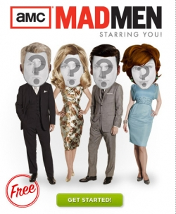 Mad Men Starring You