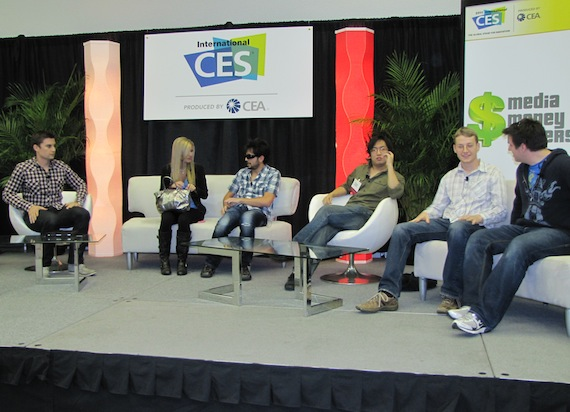 Tubefilter panel at CES 2011