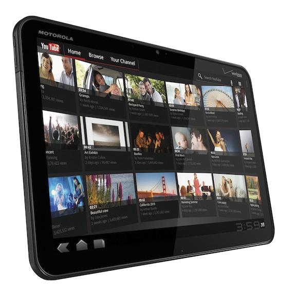 Entertainment - Xoom Tablet