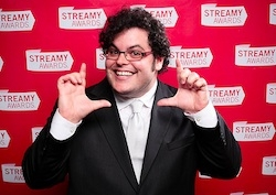 Josh Gad at Streamy Awards