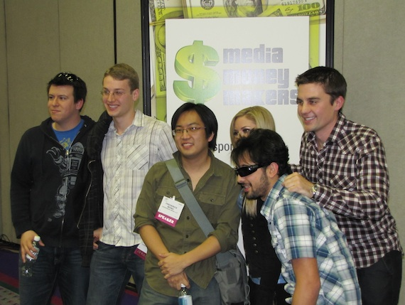 Tubefilter panel at CES 2011 - group shot