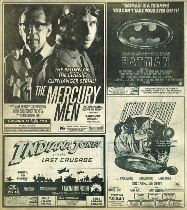 Mercury Men - local listings
