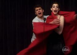 Anne Hathaway Wardrobe Malfunction