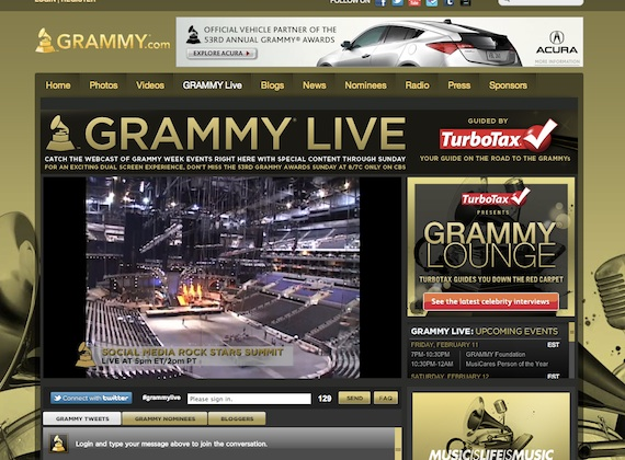 Grammy Live Stream YouTube
