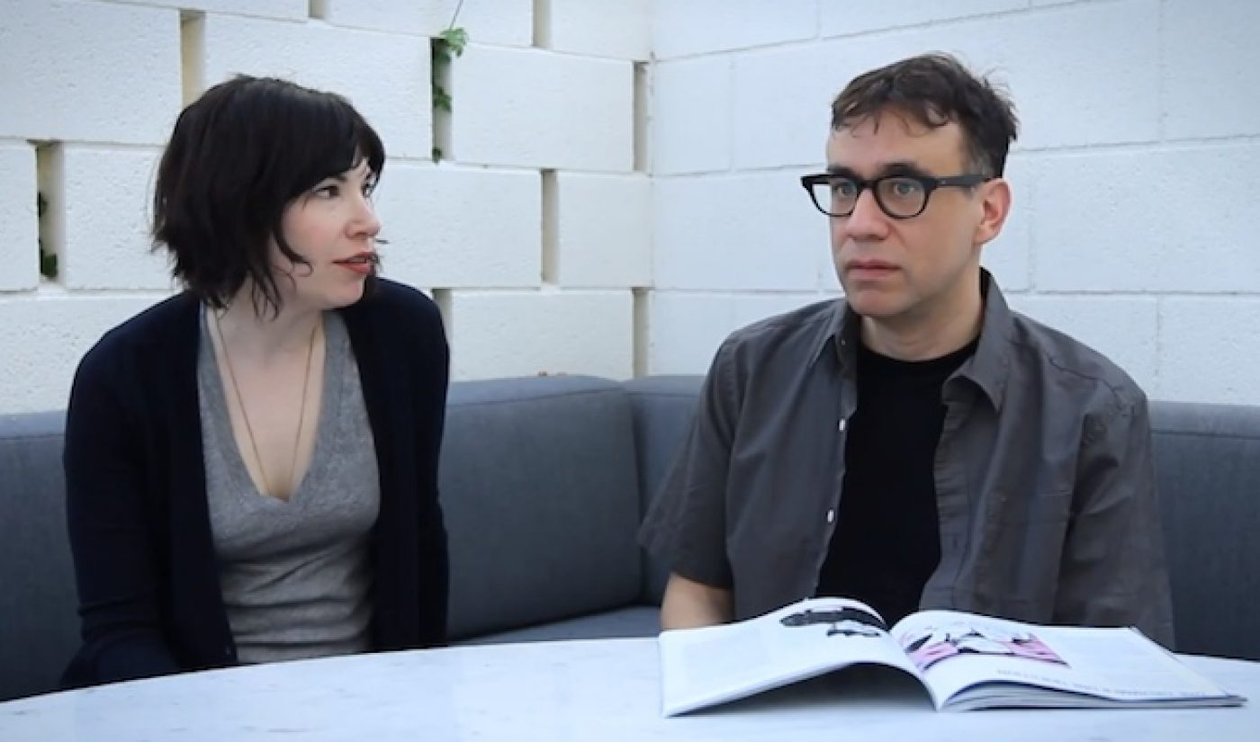 Fred Armisen Asks, 'Can You Be Serious for 30 Seconds?'