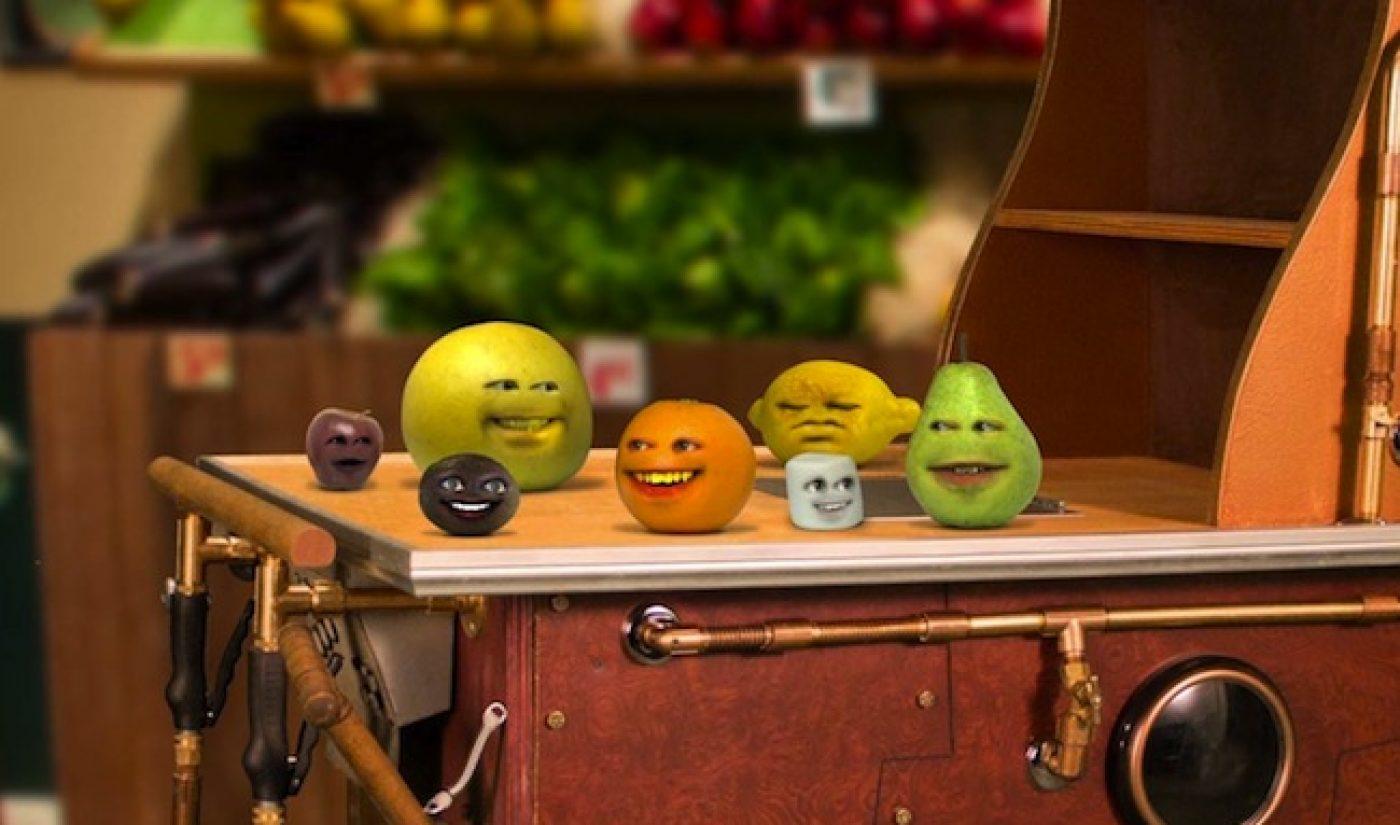 'Annoying Orange' TV Premiere Gets 2.6 Million Viewers