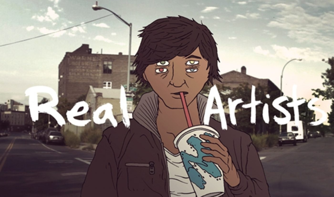 'Real Artists' Is Like 'Portlandia', But With Weird Cartoon Heads