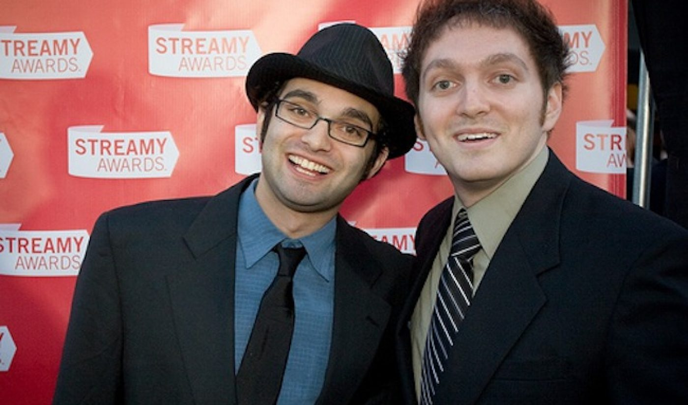 The Fine Bros. Sign with Revision3