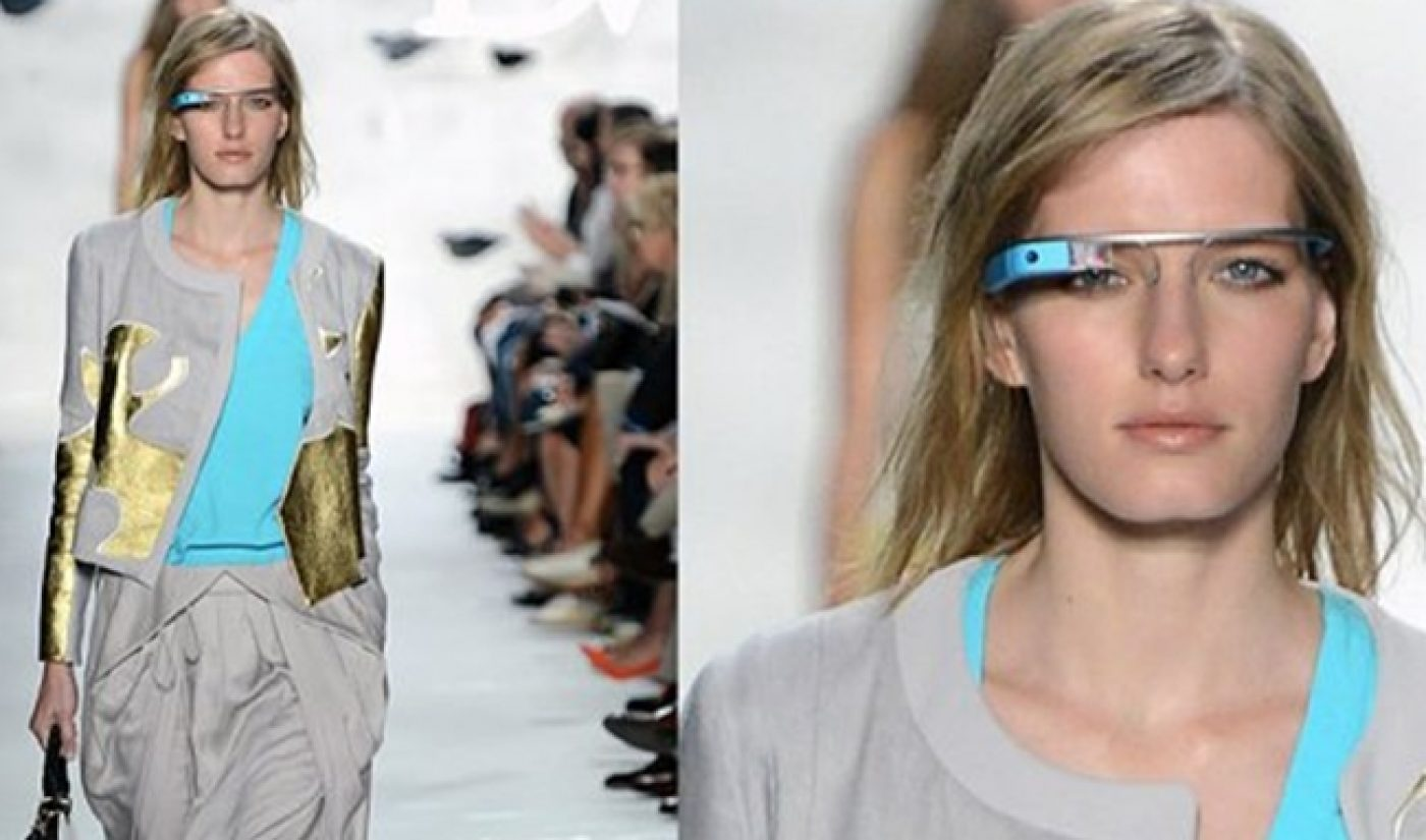 Google Glasses Meet New York Fashion Week, Not Much Changes (Yet)