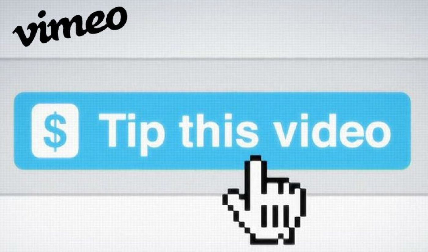 Vimeo Seeks Profit for Itself And Its Creators With Tip Jars, Paywalls