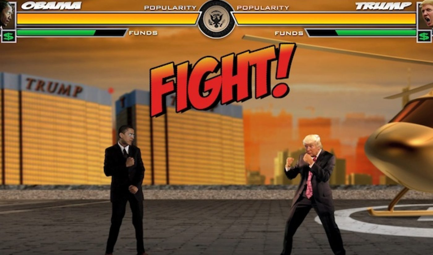 What if the Presidential Debate was Fought in Mortal Kombat?