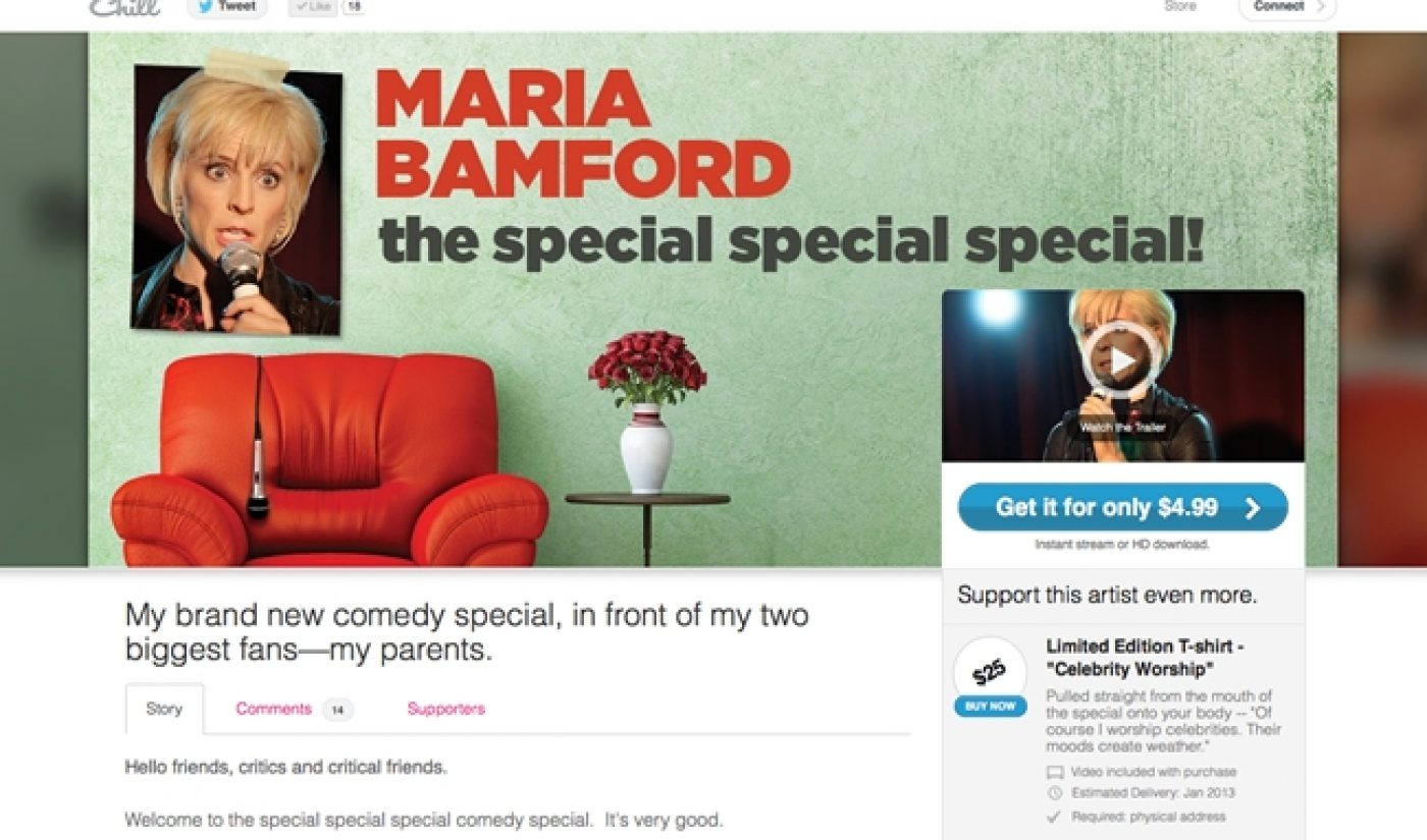 Maria Bamford Is Special On Chill's New Pay-To-View Platform