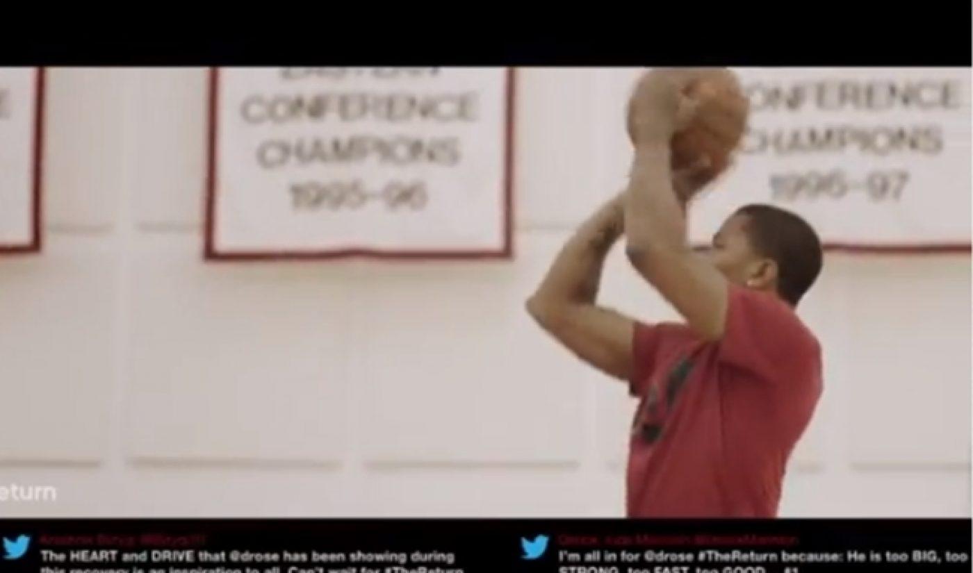 Derrick Rose Rehabs Injury In Adidas-Branded Web Series 'The Return'