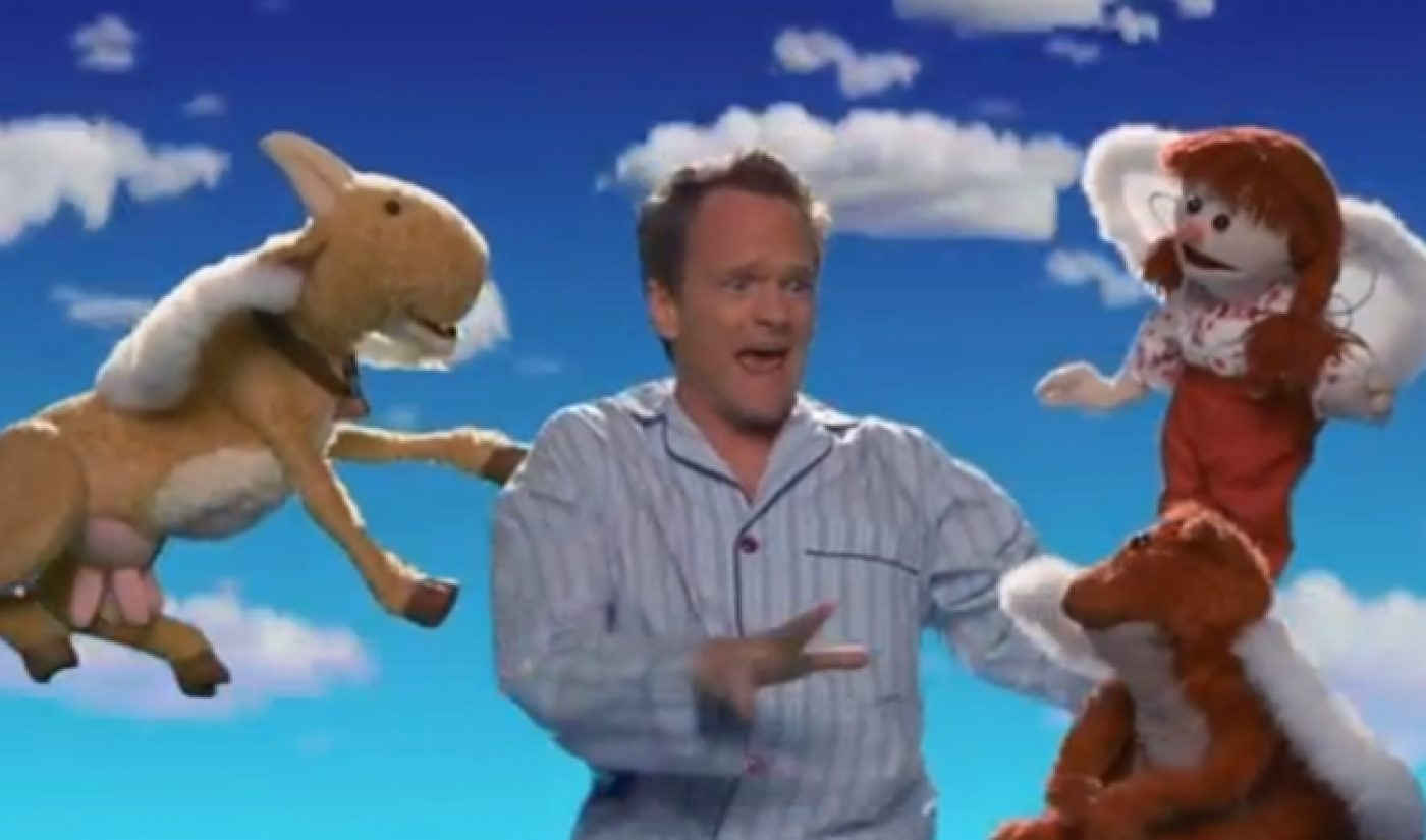 The First Episode of 'Neil's Puppet Dreams' Features Falling, Singing