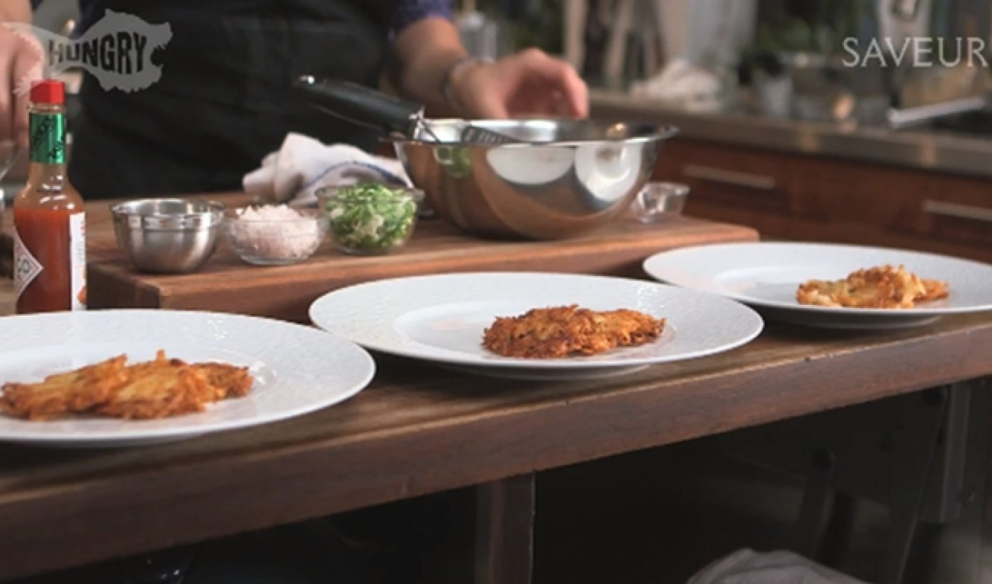 Saveur And Hungry Team Up For Yet Another Cooking Web Series