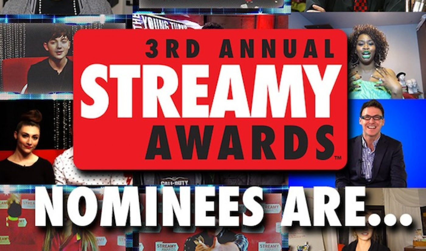 The Nominees for the 3rd Annual Streamy Awards Are…