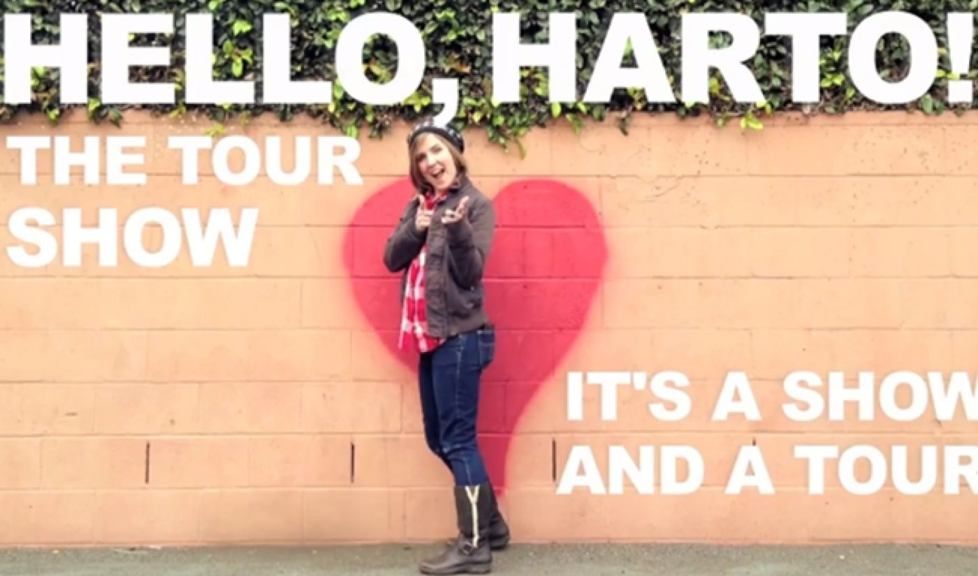 Hannah Hart To Hit The Road, Get Drunk In Your Kitchen