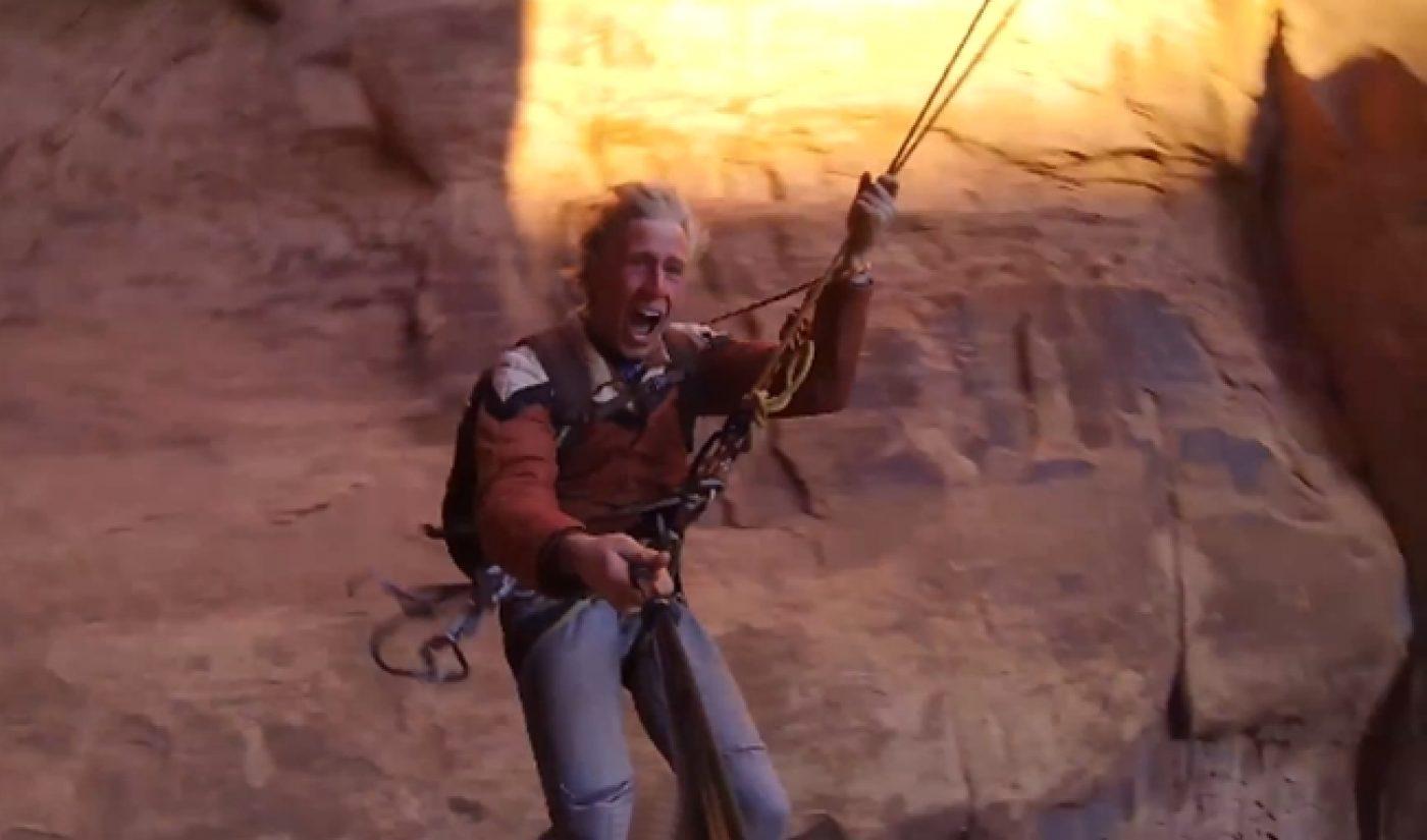 Devin Super Tramp Swings Through Canyon In Ballsiest Video Ever