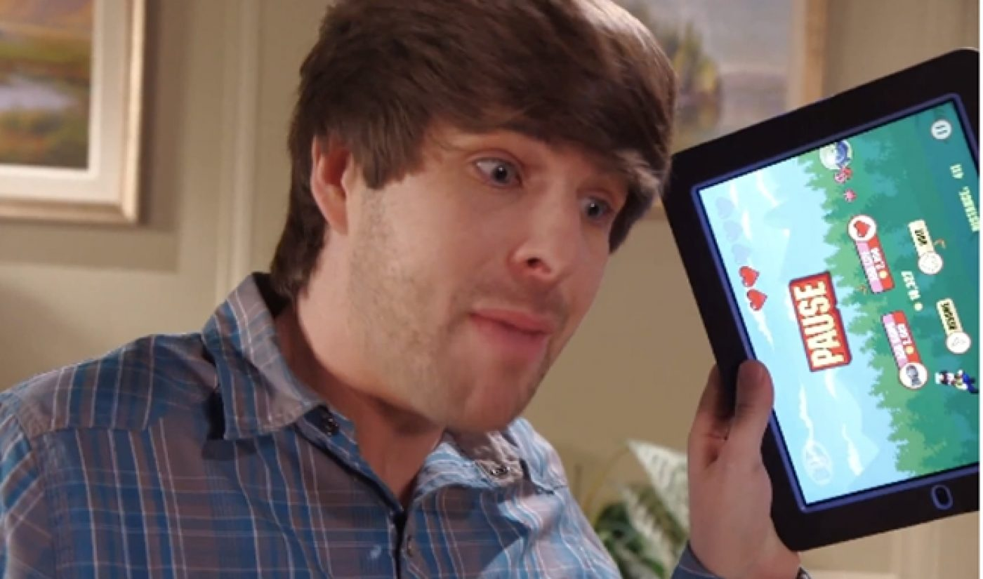 Smosh's Mobile Game Hits App Store's Most Downloaded List