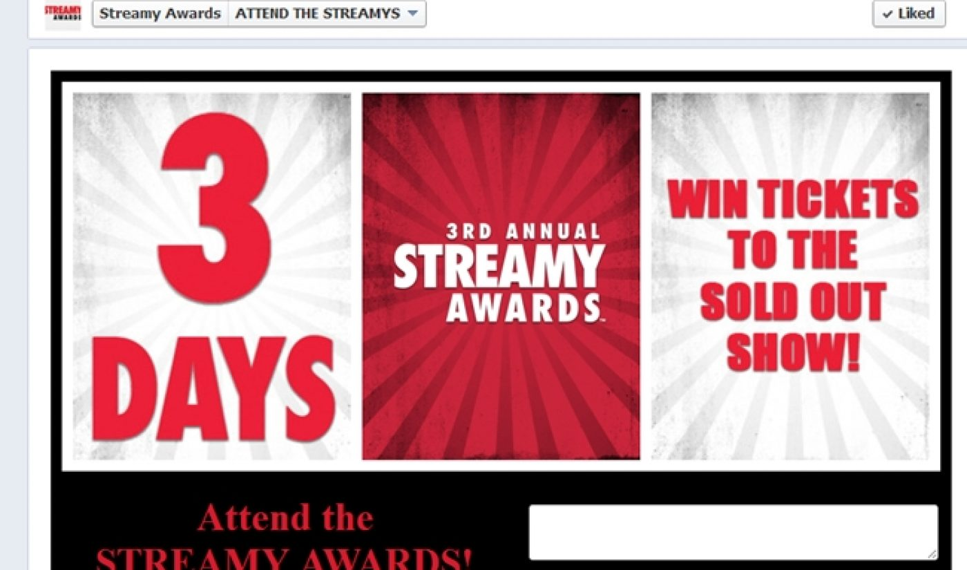 There Are Streamys Tickets Up For Grabs On Facebook