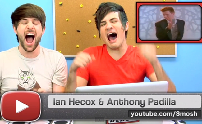 the fine brothers rickrolled 14 of the biggest youtube stars