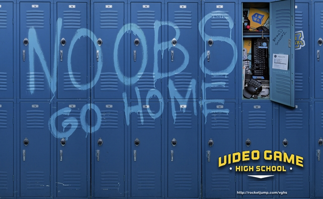 Video-Game-High-School-Wallpaper