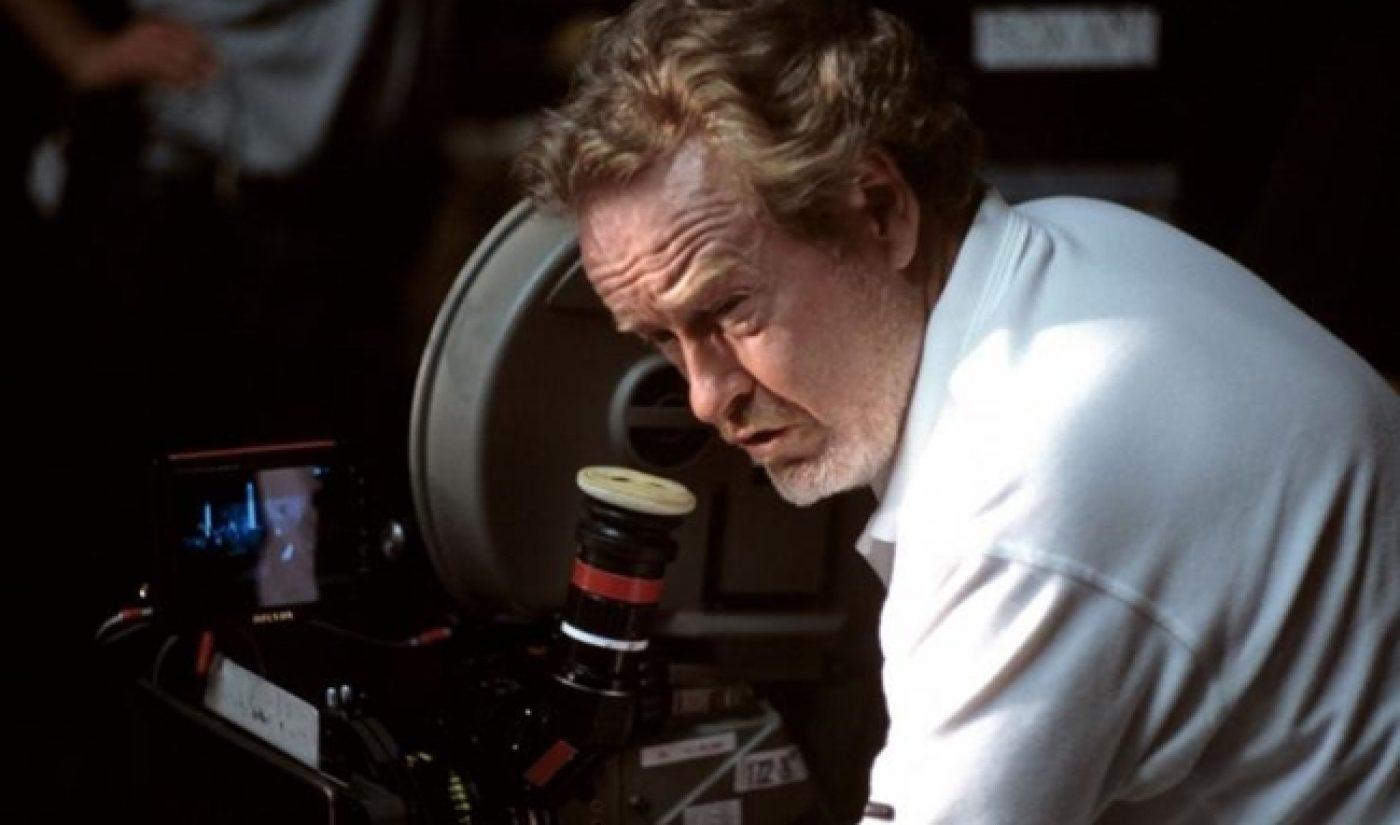 Ridley Scott Will Create New Batch Of Sci-Fi Classics For Machinima