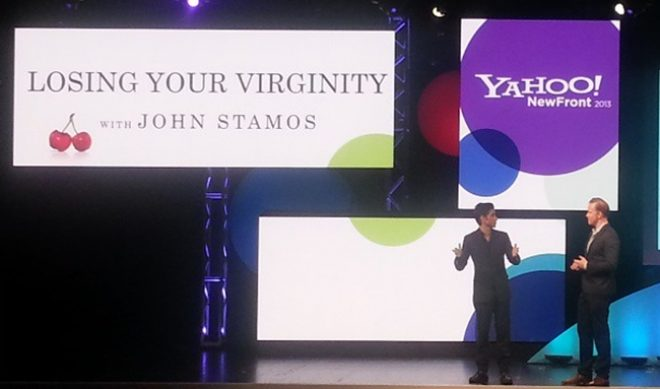 Ed Helms, John Stamos Help Yahoo Tout Upcoming Shows At Newfronts