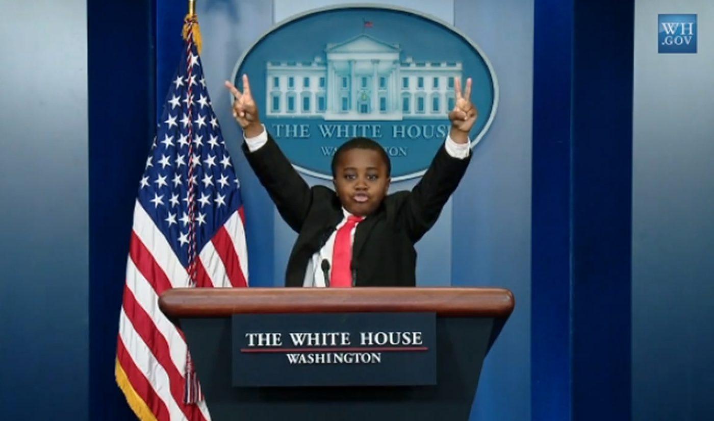 White House Officially Endorses Kid President