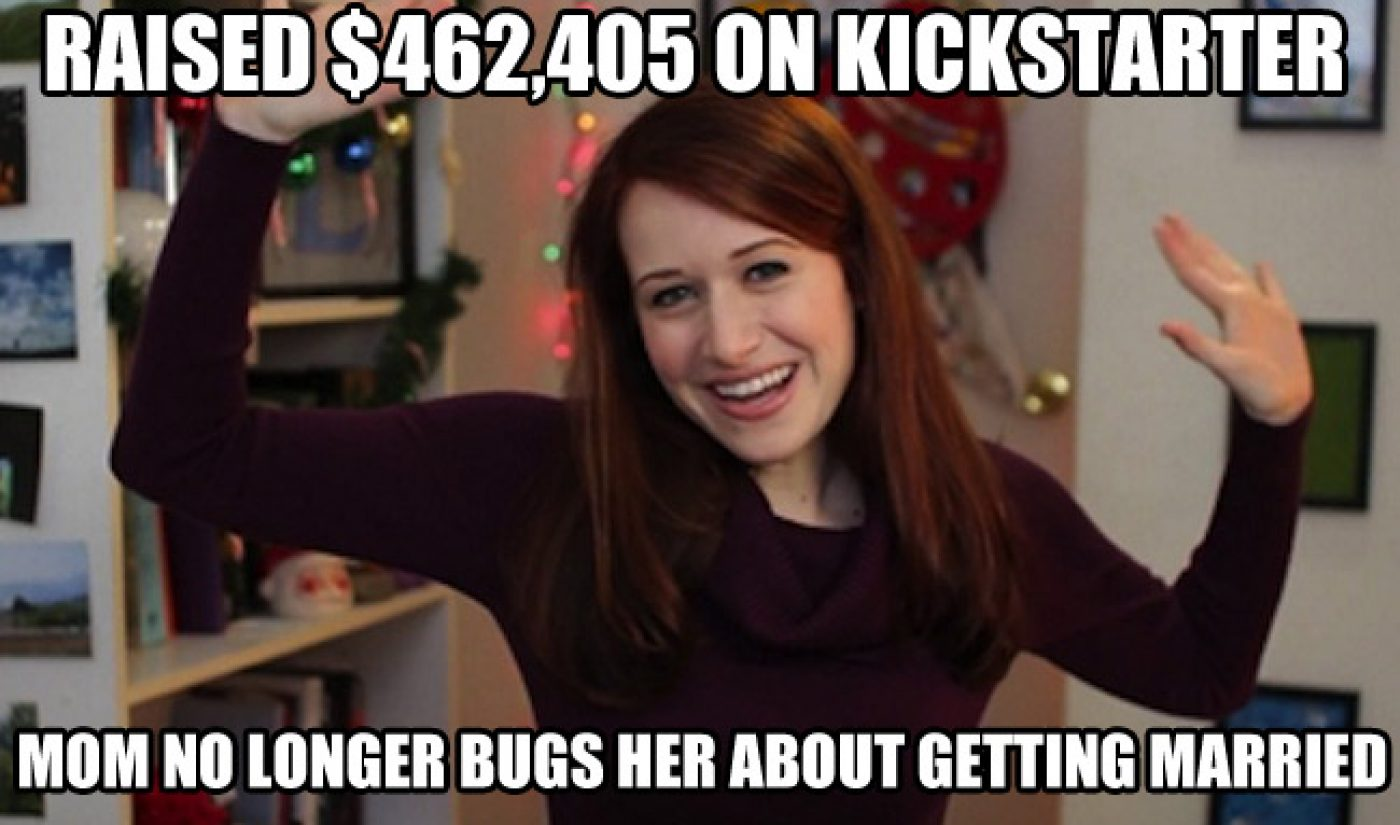 'Lizzie Bennet Diaries' Kickstarter Campaign Tops Out At $462,405