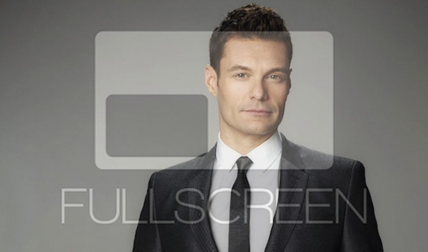 Ryan Seacrest Productions Inks Development Deal With Fullscreen