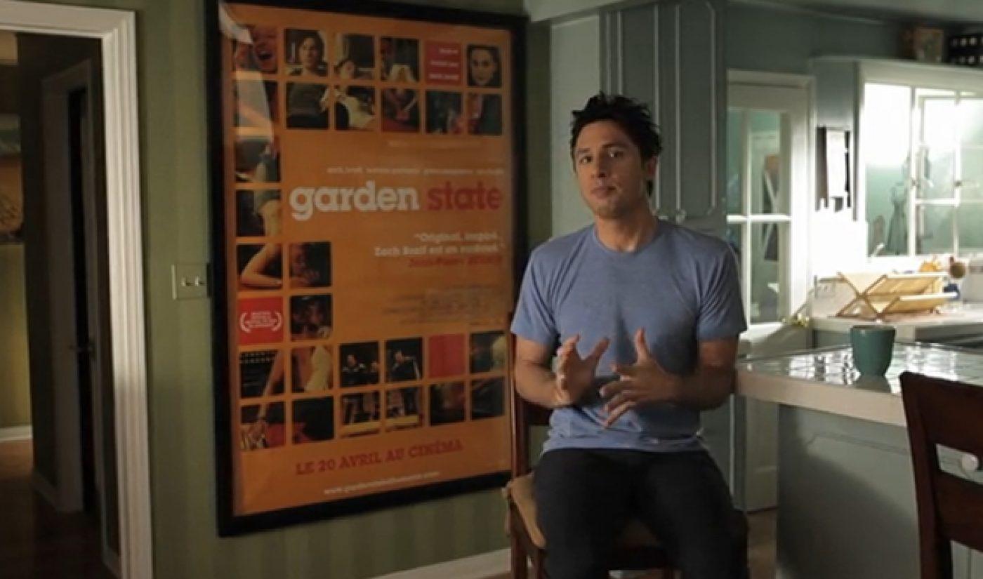 Zach Braff Next Up On Kickstarter, Raises $334,958 In First Few Hours