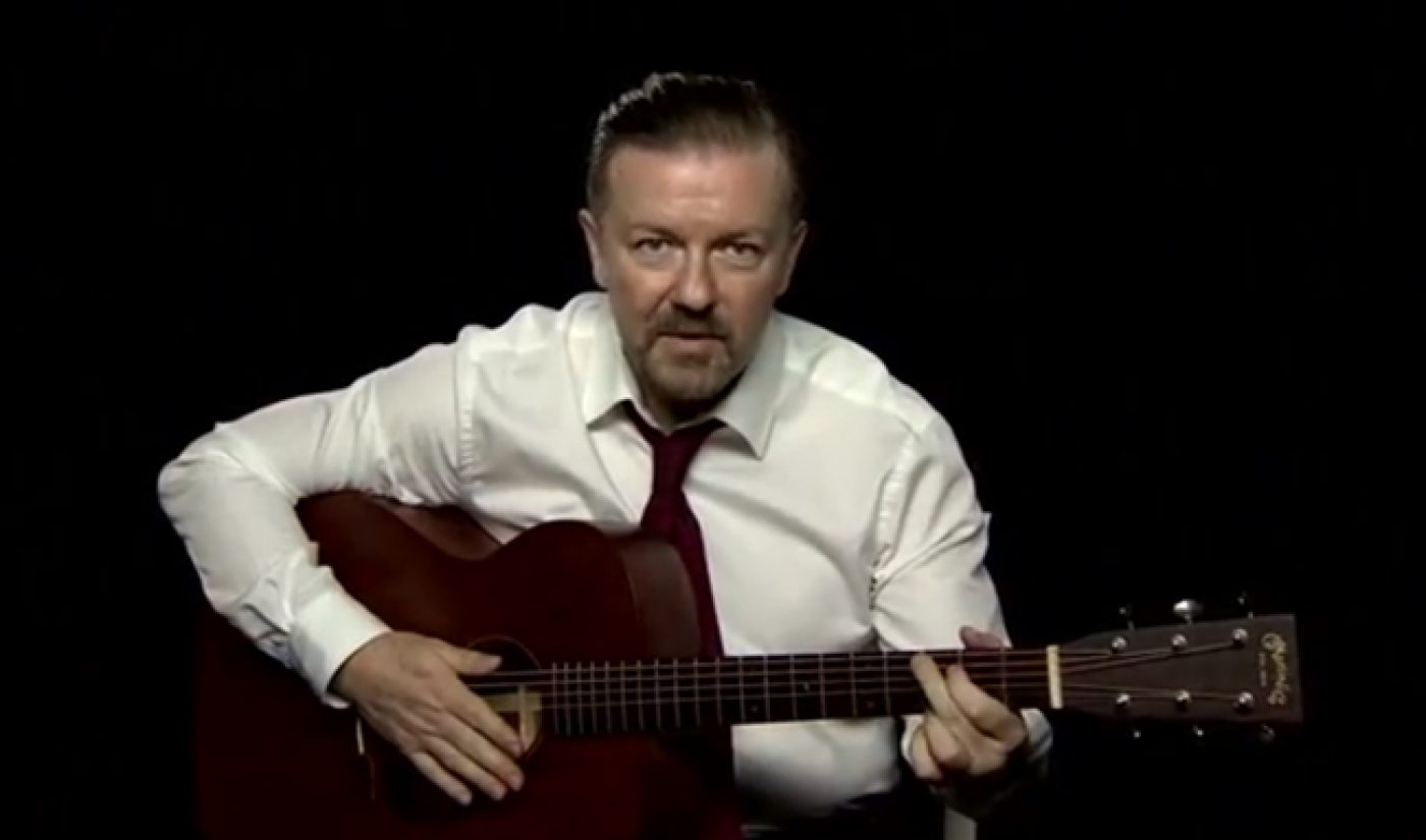 Ricky Gervais Teaches Guitar And Other Comedy Week Monday Highlights