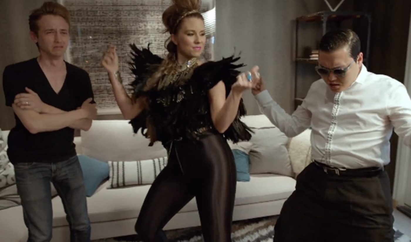 Gregory Brothers Bring In Psy, DeStorm, Others For 'DJ Play My Song'