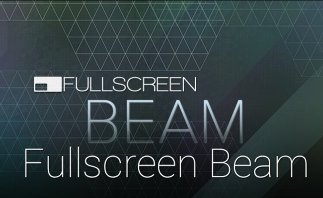 fullscreen-beam