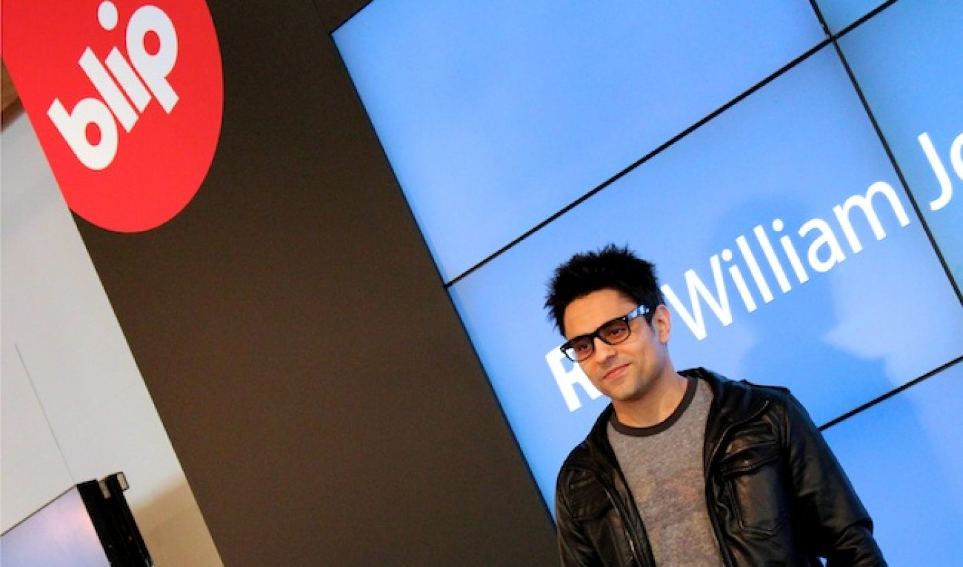 BREAKING: Ray William Johnson Signs Partnership With Blip