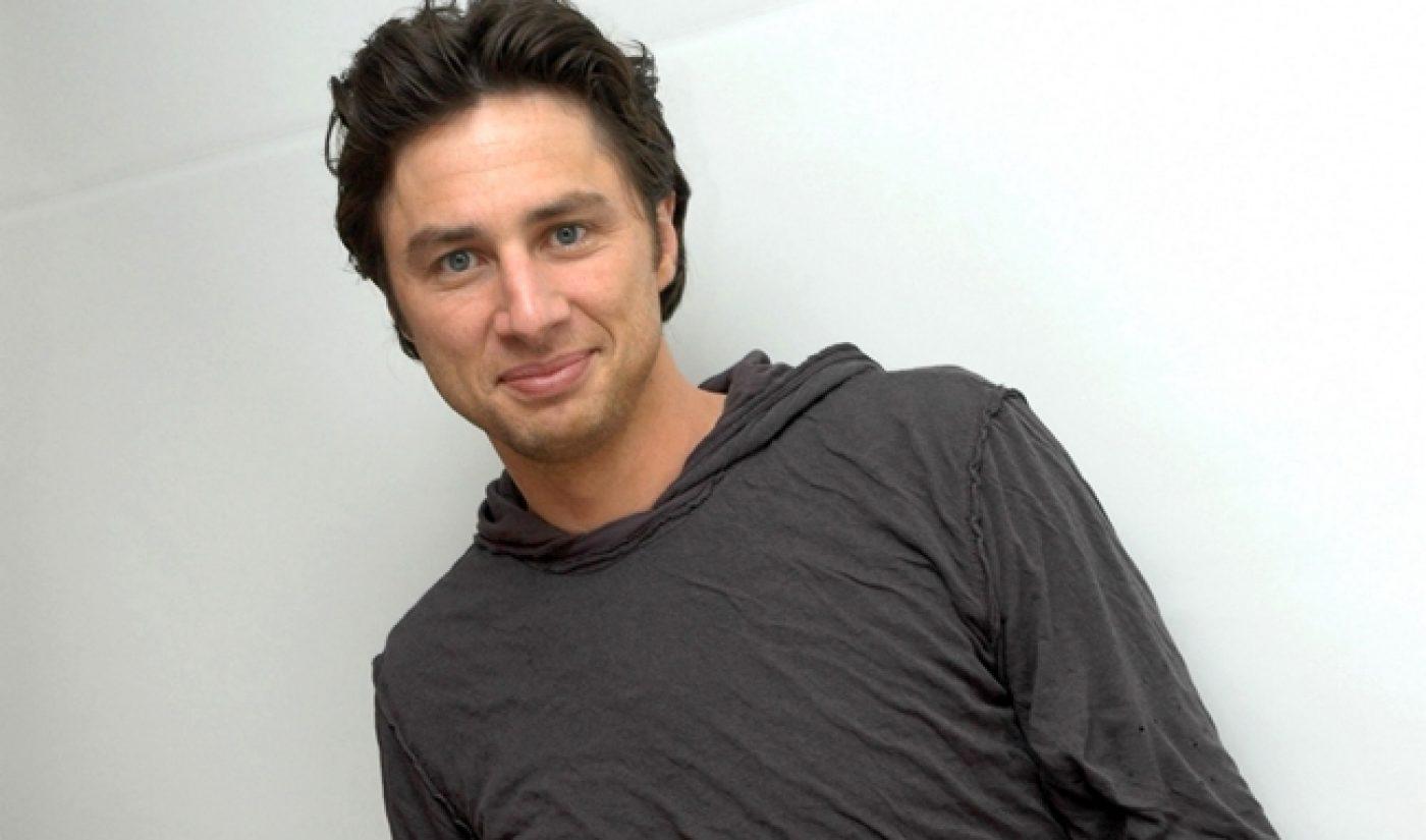Zach Braff's Kickstarter Success Secures Help Of Top Film Financier