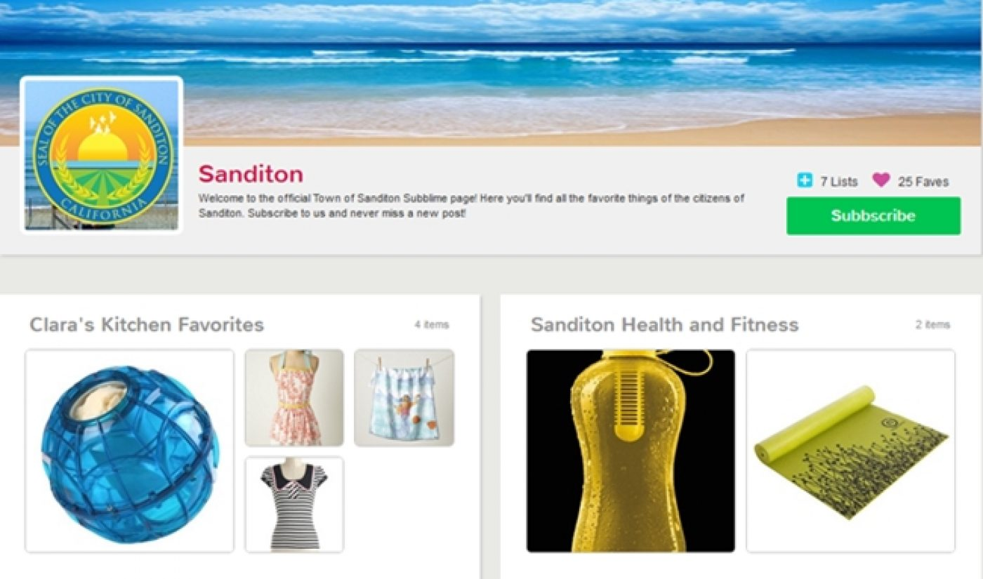 'Welcome To Sanditon' Adds Real Items To Fictional Community With Subblime