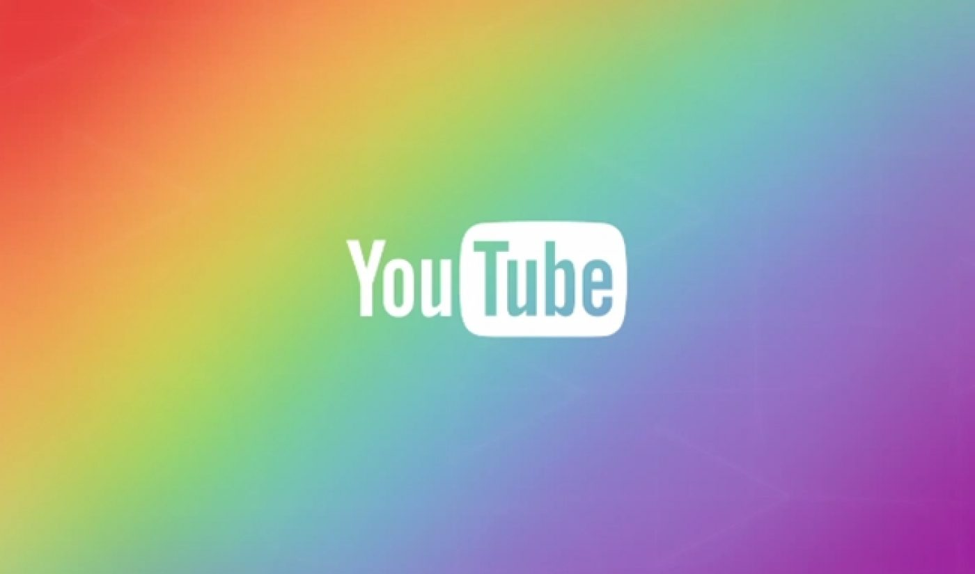 YouTube Shows It Is #ProudToLove With Sitewide LGBT Celebration
