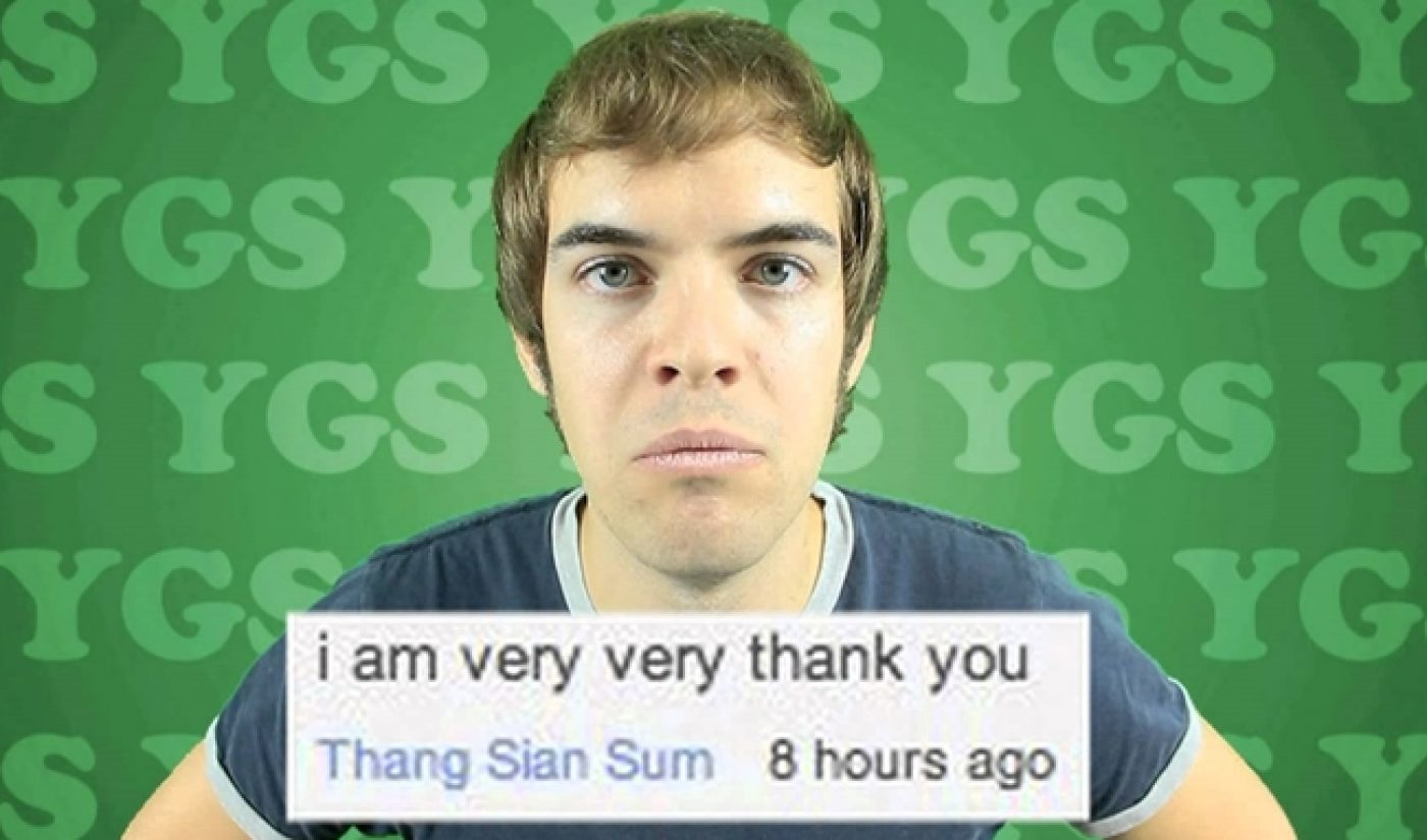 YouTube Millionaires: Jacksfilms Now Has Over One Million 'Biches'