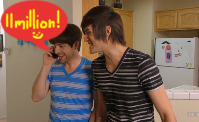 smosh-11-million-YouTube-subscribers