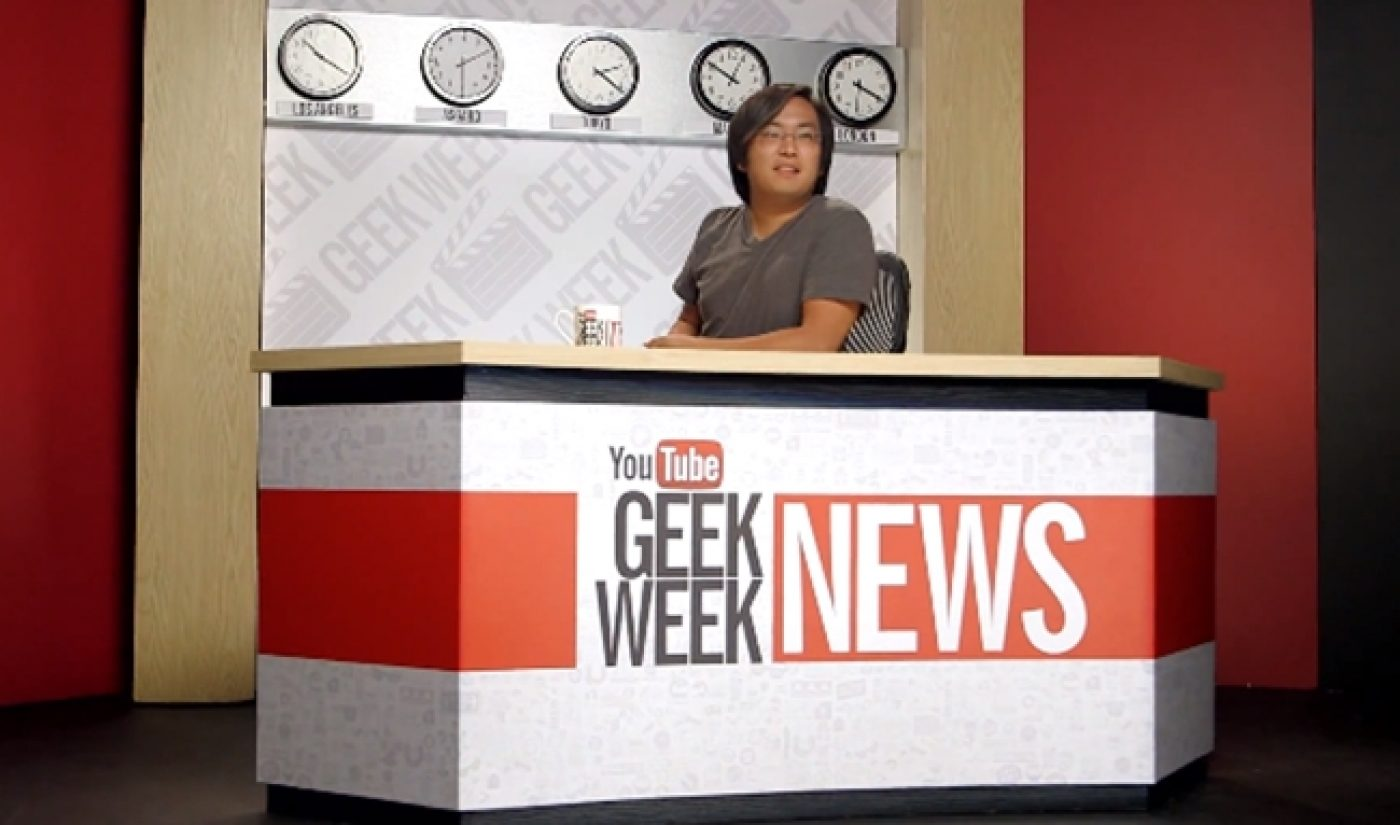 'VGHS', Other Blockbuster YouTube Productions Kick Off #GeekWeek