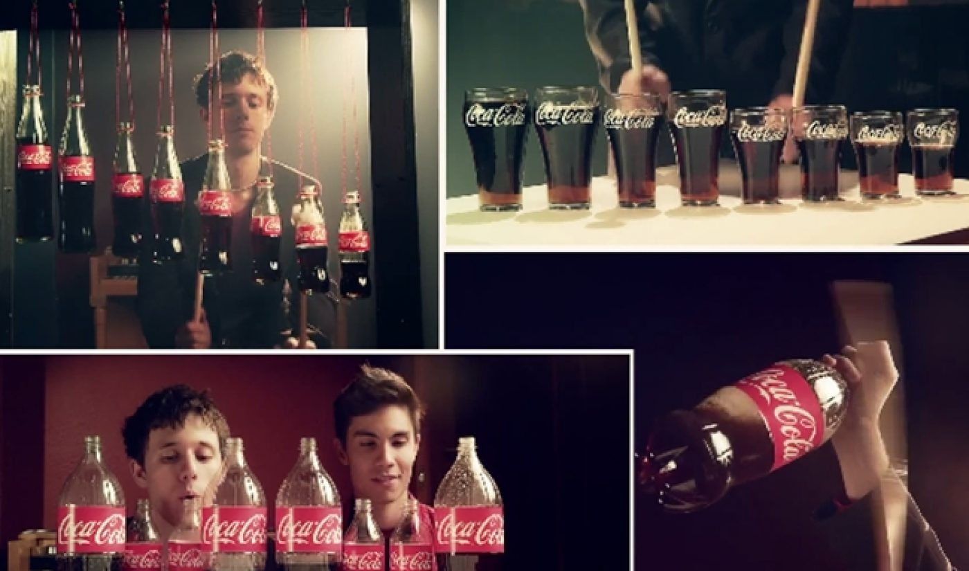 Kurt Hugo Schneider Teams Up With Sam Tsui In Second Coke Bottle Cover