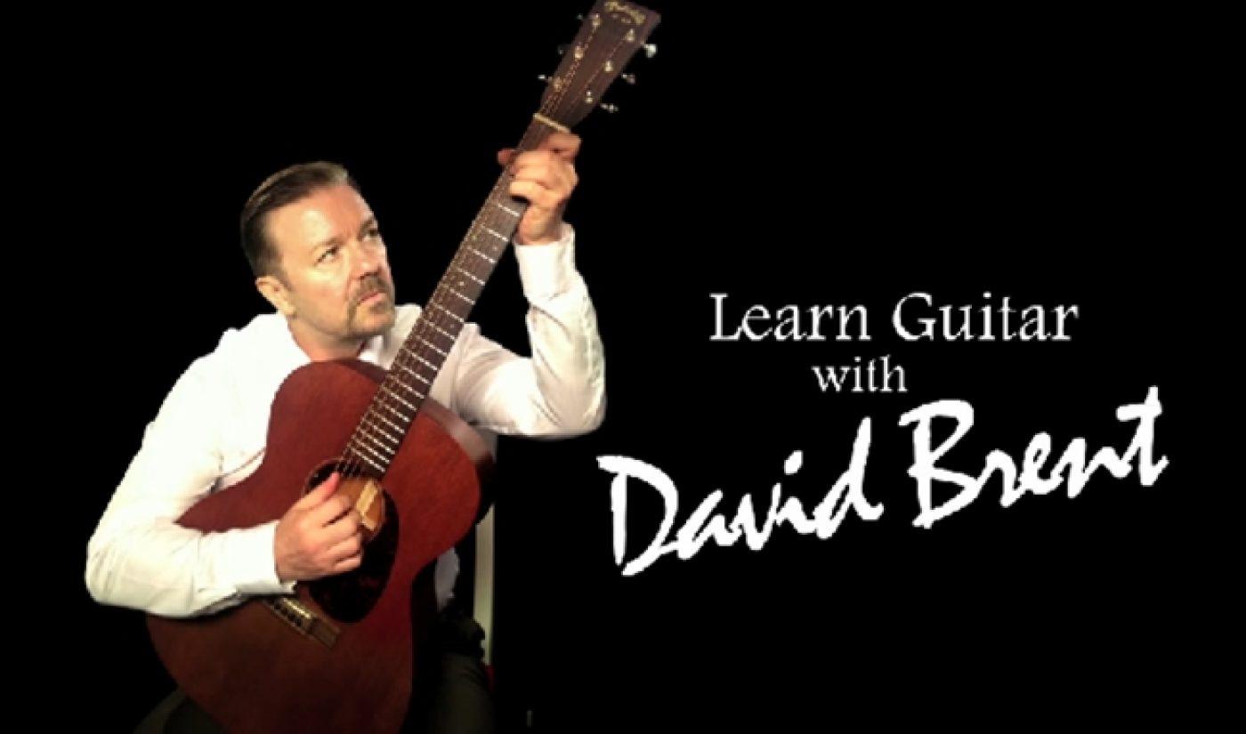Ricky Gervais To Turn David Brent Web Series Into Album, Film