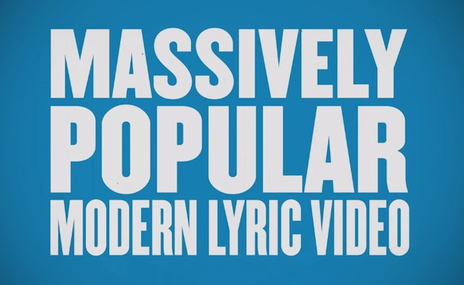 lyric-video