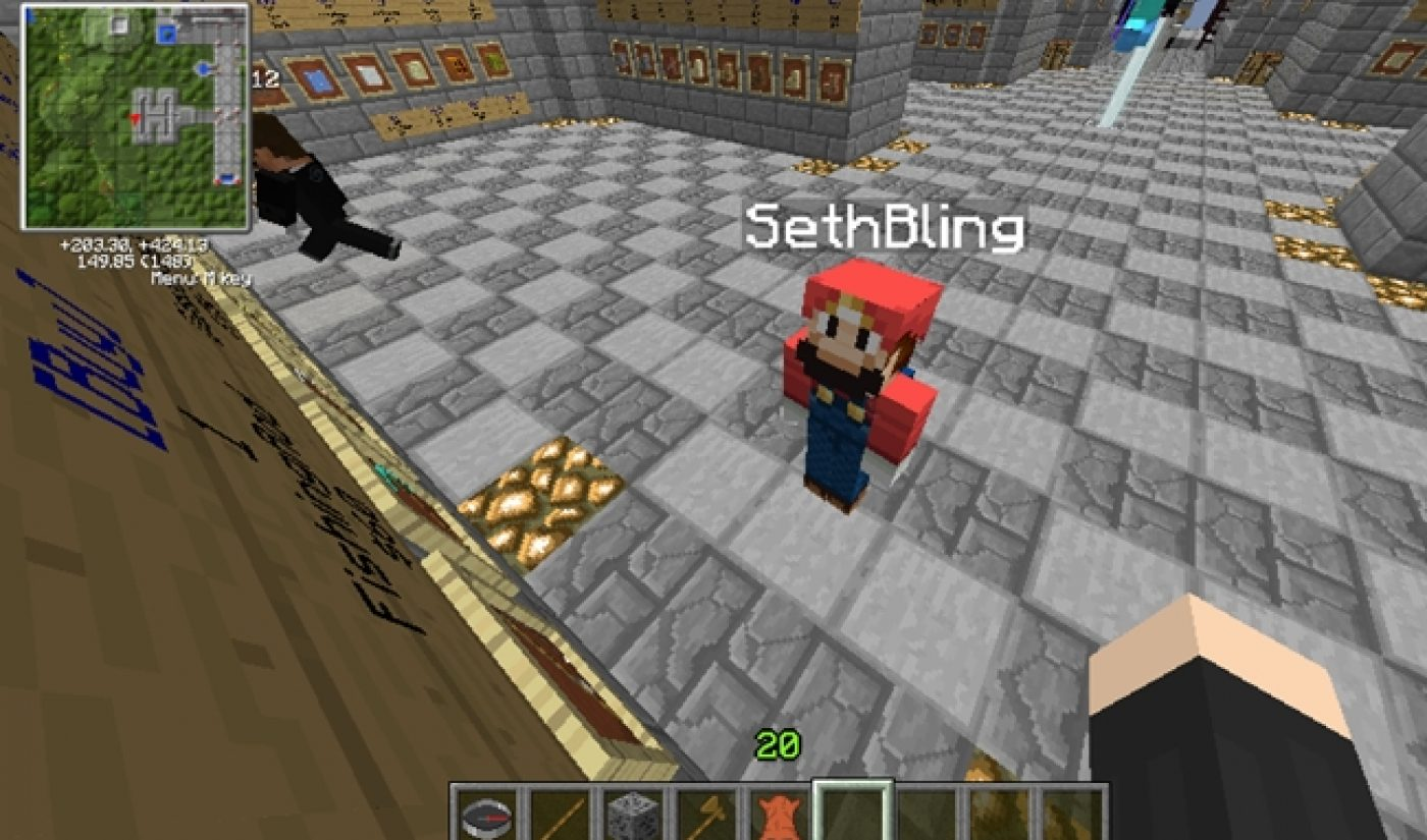 YouTube Millionaires: SethBling Teaches Minecraft For A Living
