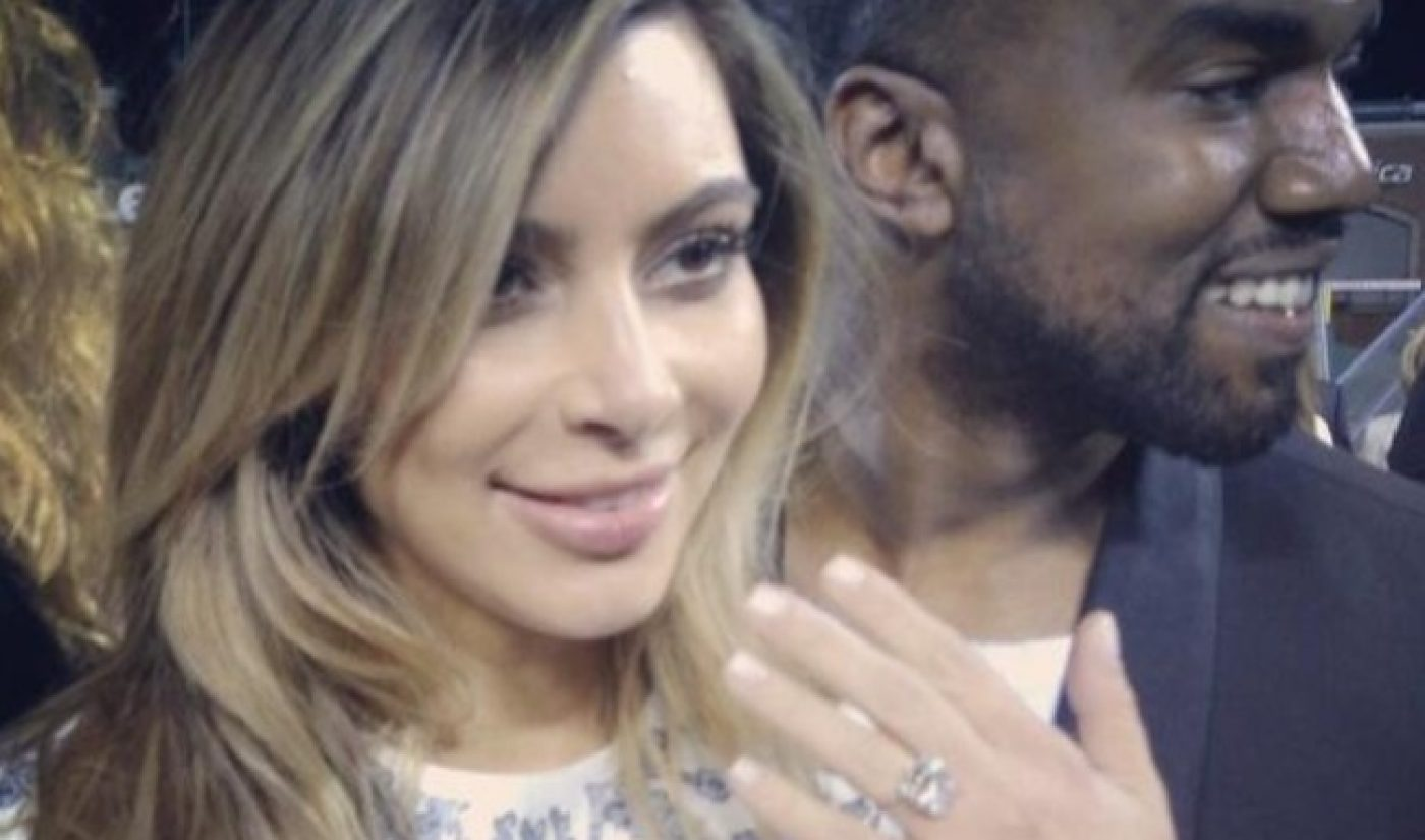 Kim/Kanye Engagement Filmed By YouTube Founder, Uploaded to MixBit