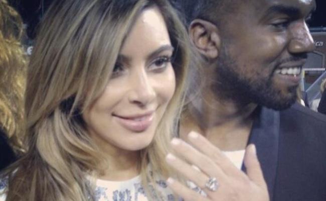 Kim-Kanye-Engaged-mixbit