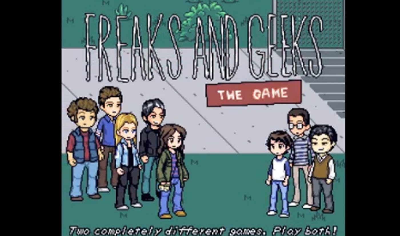 The Fine Bros Turned 'Freaks And Geeks' Into A YouTube Video Game