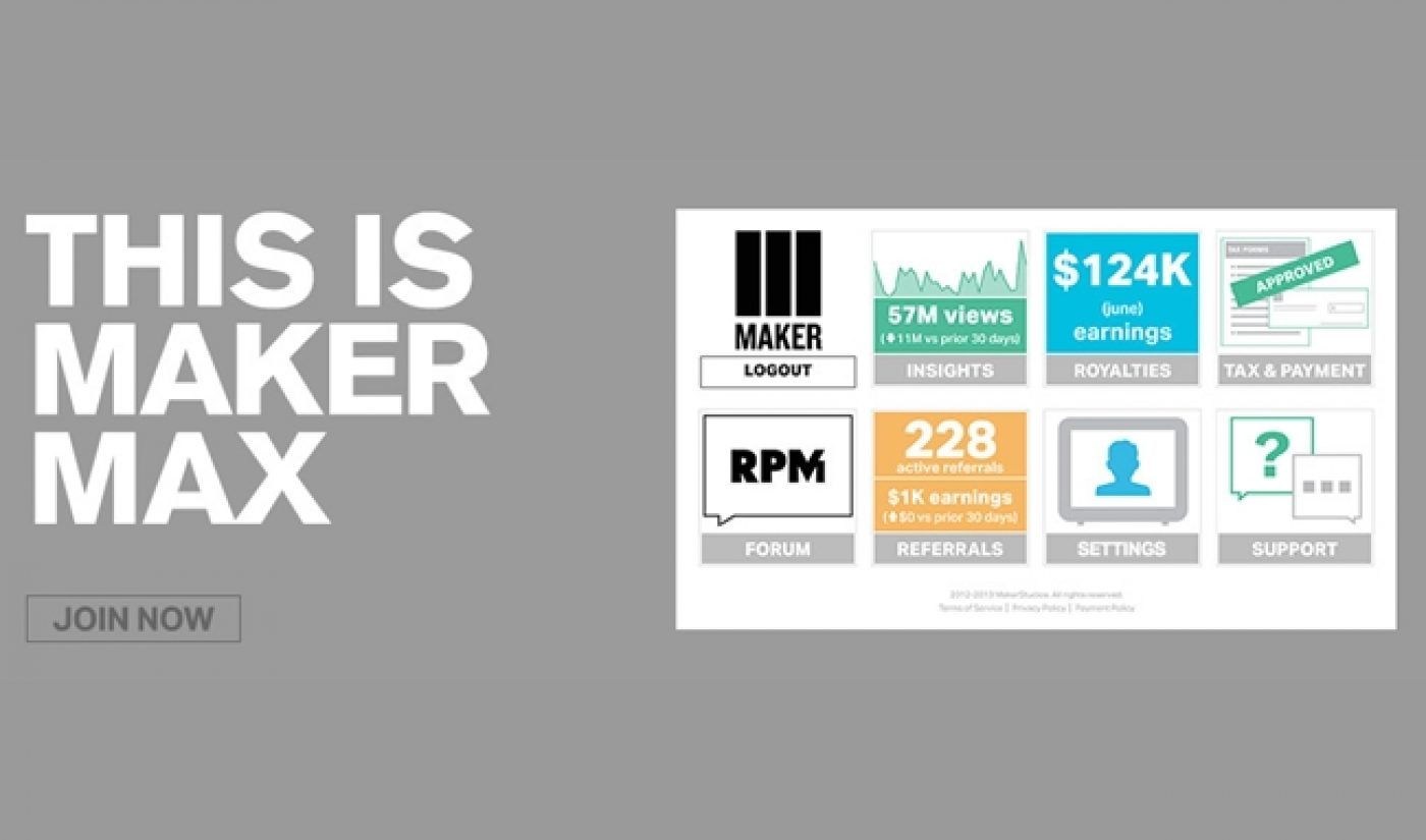 Maker Studios Will Organize All Of Its Partners Across Four Huge Units